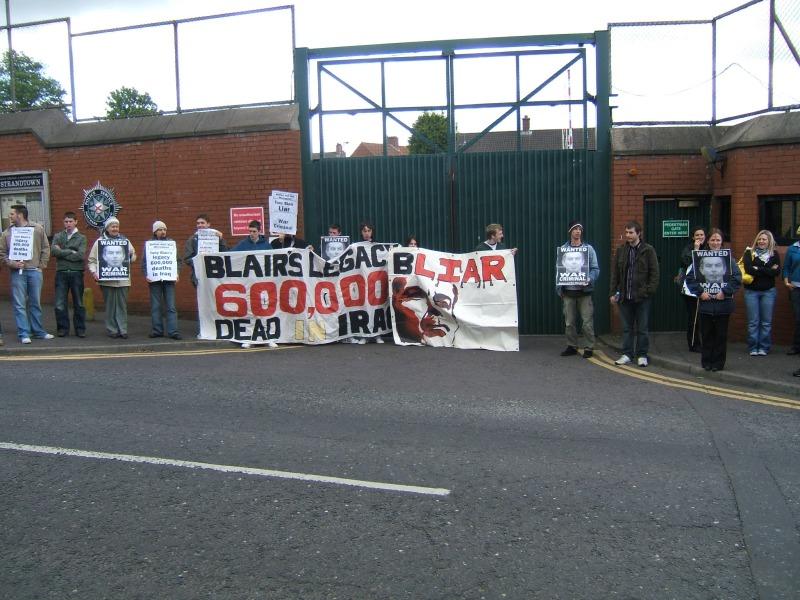 Essay street demonstration