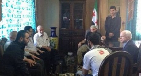 Photo 1: McCain meets top al Qaeda terrorist leader